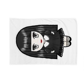 3頭身かえちゃん(ねんね) Blankets