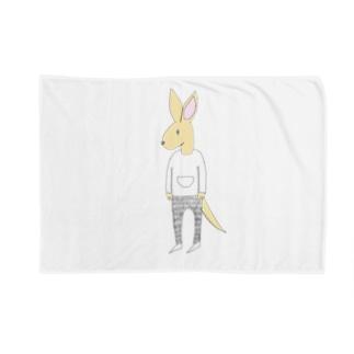 kangarooカラーバージョン Blankets