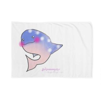 Hope CREATIVE DANCEのWhale shark〜ジンベイさん〜 Blankets