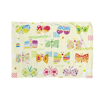 butterfly-butterfly-butterfly ブランケット