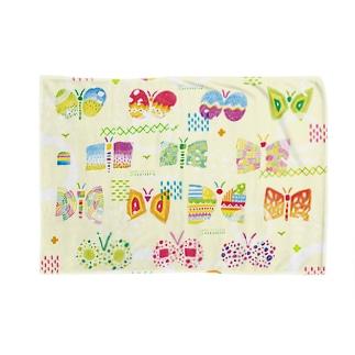 butterfly-butterfly-butterfly Blankets