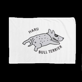 erumaのBULL TERRIER HARU Blankets