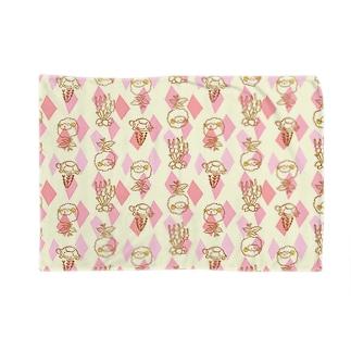 【メリのすけフレンズ】(ピンク) Blankets