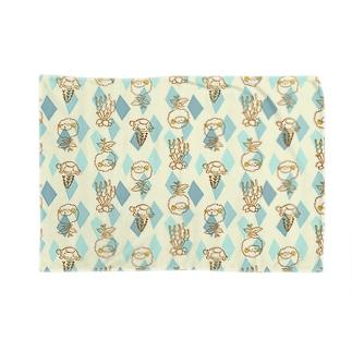 【メリのすけフレンズ】(あお) Blankets