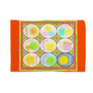 【マリモの妖精・まりポックル】「まりポックル曼荼羅」 Blankets