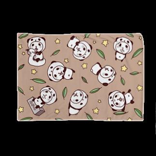 スパイシー千鶴のパンダinぱんだ(総柄) Blankets