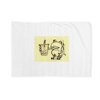 …タピオカだよ。 Blankets