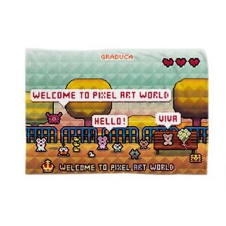 PixelArt ビーズパーク ブランケット
