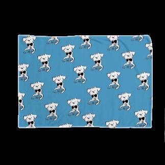 iccaのおすわりグリフォン ブルー Blankets