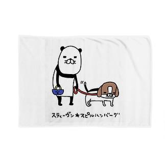パンダと犬の犬2 Blankets