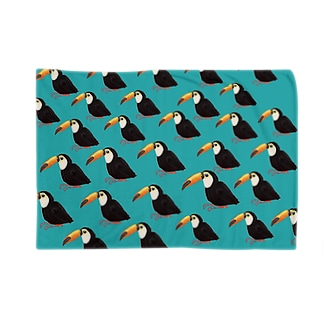 オオハシっていう鳥さん Blankets