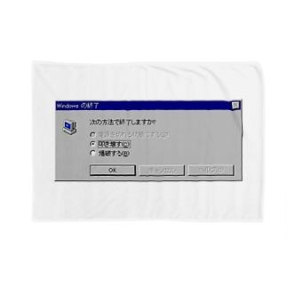 Windows エラーメッセージ Blankets