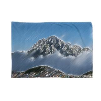 雲海の劔岳 Blankets