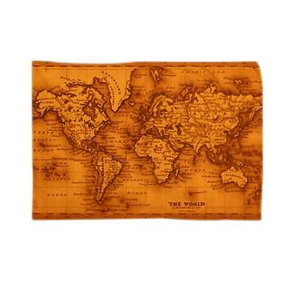 アンティーク・マップ「世界地図」 Blankets