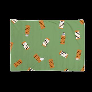 subacoのあの筒文鳥(みどり) Blankets