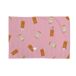 あの筒文鳥(ピンク) Blankets