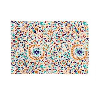 トルコのモザイクランプ(オレンジ) Blankets