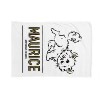 アメリカンカールのモーリス Blankets