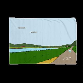 waytogodesignの川べりの景色 Blankets