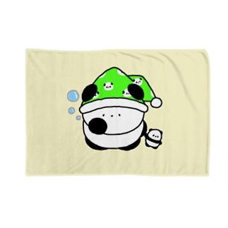 ぱんちゃん(ねむいで) Blankets