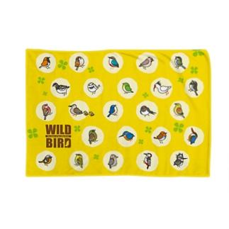 野鳥連合(イエロー) Blankets