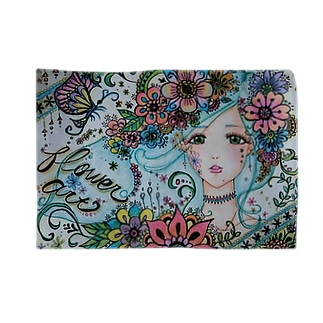 flower*art Blankets