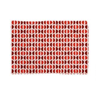 半円のパターン Blankets