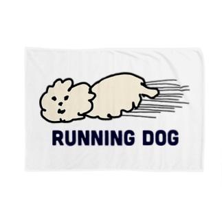 走る犬 Blankets