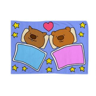 ウォンちゃん&かぴちゃん Blankets