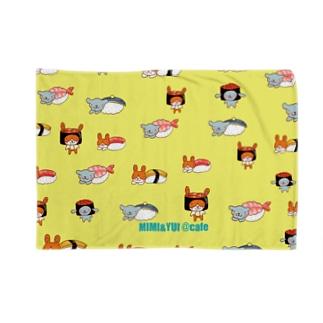 mimi&yui寿司ブランケット Blankets