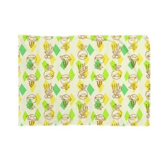 【メリのすけフレンズ】(菜の花) Blankets