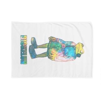 宇宙な宇宙人カエル Blankets