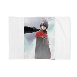 闘技演武【公式グッズ】MWF02漆黒の翼マイト Blankets