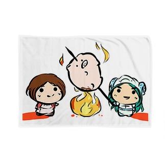 とーえん!【公式グッズ】おりょうり Blankets