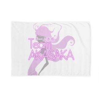 チーム赤坂 ブランケット  Blankets
