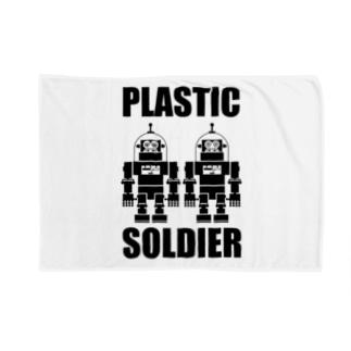 PLASTIC SOLDIER ブランケット
