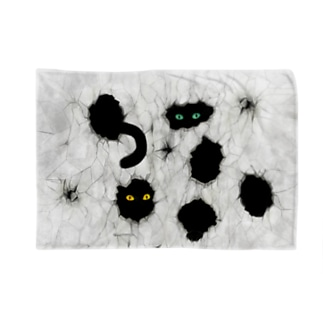 黒猫が見ている Blankets