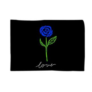 青い薔薇 Blankets