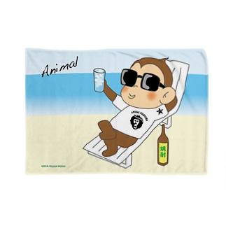 冬なのに常夏の気分になれるブランケットだよ。 Blankets