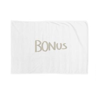 減ってゆくボーナス Blankets