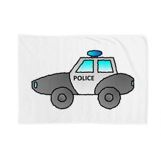 警察車両 Police Car Blankets