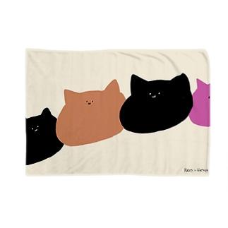 にゃん 3 Blanket