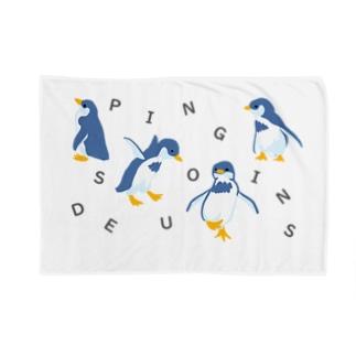 Des Pingouins~ペンギン達~ Blankets