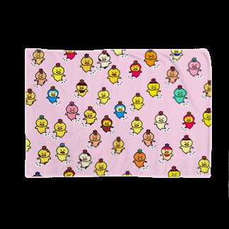 popopom777のんぱんぱダンス会場(うすもも) Blankets