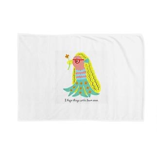 CUTIE BOXのアマビエちゃん Blankets