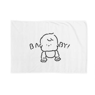 もちもちベイビー Blankets