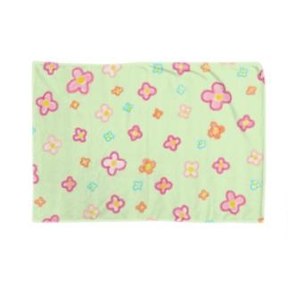 花畑(うすみどり) Blankets