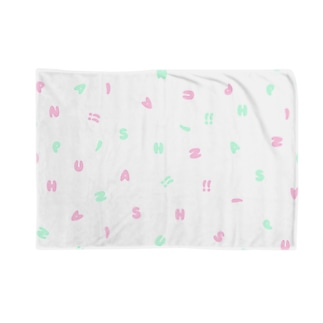 AniPush!!白 Blankets