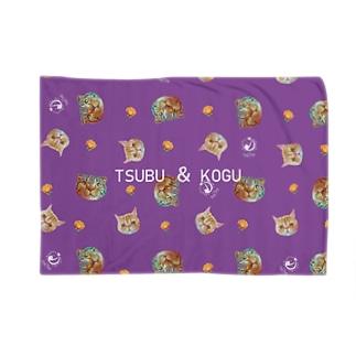 猫カフェラグドールこぐつぶコンビ Blankets