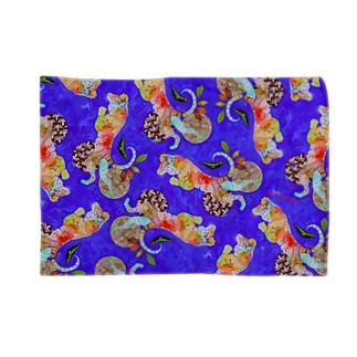 Sumatra-Chocolate-Tiger design Blankets